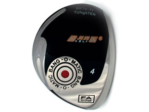 Bang-O-Matic Fairway Wood Head